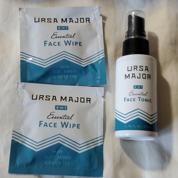 Ursa Major 'Essential 4-in-1'  Face Wipes & Toner